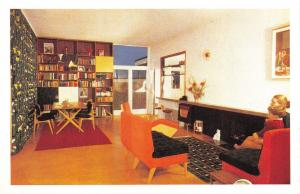 Nostalgia Postcard Good Housekeeping 1950's Interior Design Repro Card NS52