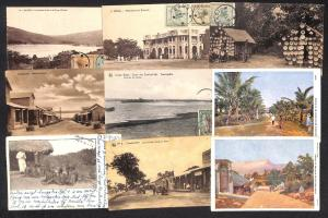 Belgian Congo Belge lot 21 vintage postcards