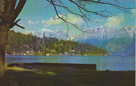 Canada View Of Bowen Island Area British Columbia