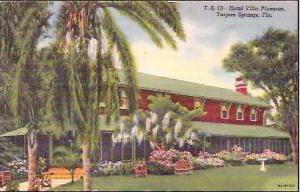 FL Tarpon Springs Hotel Villa Plumosa