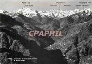 Postcard Modern Cardada vista nel Centovalli Monte Rosa
