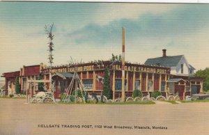 MISSOULA , Montana, 1930-40s; Hellgate Trading Post