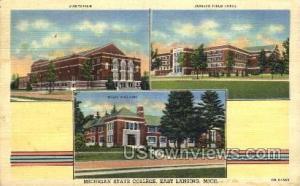 Michigan State College East Lansing MI 1946