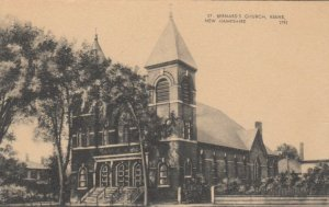 KEENE, New Hampshire, 1900-10s; Bernard's Church