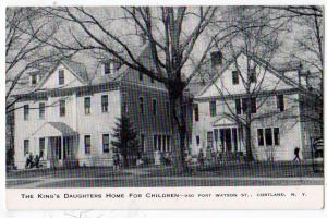 King's Daughters Home for Children, Cortland NY
