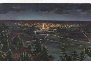 Colorado Denver Lights At Night From Lookout Mountain Curteich