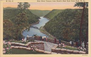 New River Canyon From Hawks Nest Rock State Park West Virginia