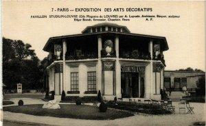 CPA PARIS EXPO 1925 Pavillon Studium-Louvre Gds Magasins du Louvre (861638)