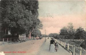 Hampstead Spaniards Road Promenade Postcard