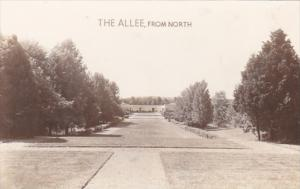 Indiana Lincoln City The Allee From North Nancy Hanks Lincoln State Memorial ...