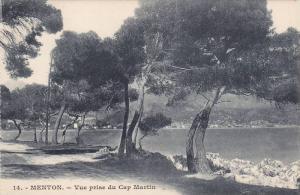 Menton,Vue prise du Cap Martin, Alpes Maritimes, France, 00-10s