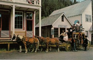 BARKERVILLE , B.C., 40-60s; Stage Coach