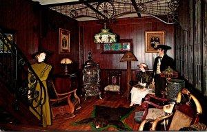 Michigan Irish Hills Stagecoach Stop Replica Of 1890 Western Hotel Lobby