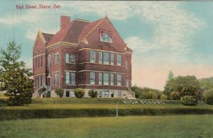 SIMCOE , Ontario , 1912 ; High School