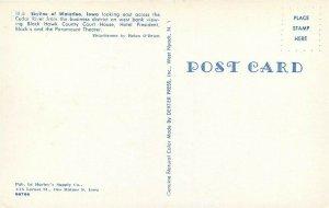 IA, Waterloo, Iowa, Skyline, Dexter Press No. 66766
