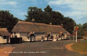 New Forest Sir John Barleycorn Inn Cadnam Postcard