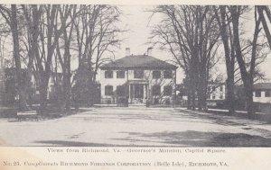 RICHMOND , Virginia , 00-10s ; Governor's Mansion