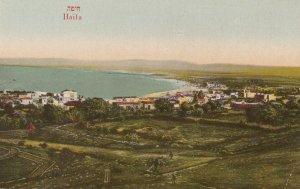 HAIFA , Israel , 1900-10s ; Bird's Eye view #2