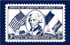 Marquis De Lafayette 1754-1834 Yorktown Patriotic Postcard Post Card Yorktown...