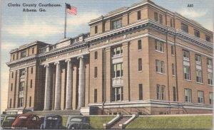 Athens Georgia Clarke County Courthouse