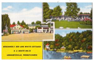 Kerchner's Red & White Cottages, Lenhartsville PA