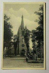 UNUSED PICTURE POSTCARD - ST NICOLAASKERK VALKENSWAARD (KK2477)