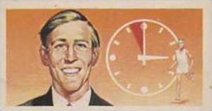 Brooke Bond Tea Vintage Trade Card Famous People 1967 No 50 Roger Gilbert Ban...