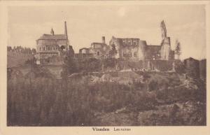 VIANDEN , Luxembourg , 1920-30s ; Les ruins #3
