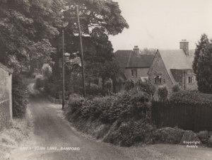 Joan Lane Bamford Lancashire Real Photo Vintage Postcard