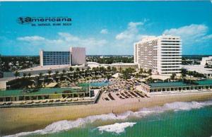 Florida Miami Beach The Americana Hotel 1961