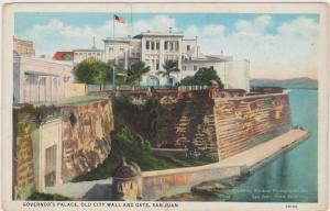 Governor's Palace, Old City Wall and Gate, San Juan, Puerto Rico, 1909
