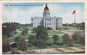 State Capitol and Grounds, Denver, Colorado, PU-1946