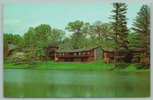 Asheville North Carolina~Crowfields Condominiums~Epitome of Elegance~c1950 PC