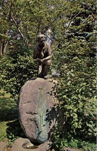 Scouting - Boy Scouts Statue at Plymouth, NH