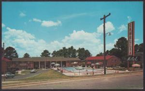 Camellia Motel,Columbus,GA Postcard