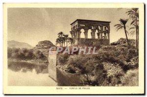 Postcard Ancient Egypt Egypt Temple of Philae
