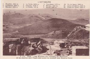 L'Auvergne , France , 00-10s : Les Ruines du Temple de Mercure