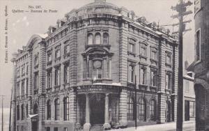 QUEBEC, Canada, 1900-1910's; Bureau De Poste