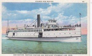 Steamer NEW BEDFORD , New Bedford, Marthas Vineyard & Nantucket Line , 00-10s