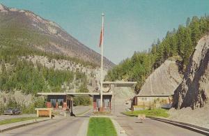 The Colorful Kootenay Series, Entrance to Kootenay National Park, British Col...