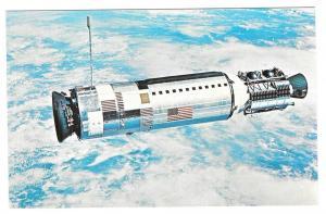 Gemini 12 Spacecraft NASA JFK Space Center Astronauts Lovell Aldrin Vtg Postcard