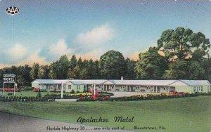 Florida Blountstown Apalchee Motel
