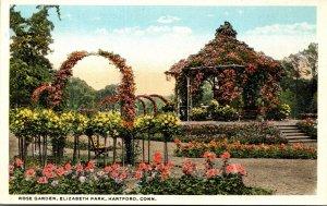 Connecticut Hartford  Elizabeth Park Rose Garden Curteich