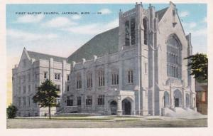 Mississippi Jackson First Baptist Church