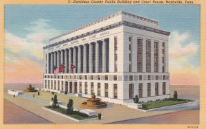 NASHVILLE , Tennessee , 1949 , Court House