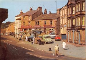 The Market Place, Hawes, Wensleydale Yorkshire Market Street Cars Auto