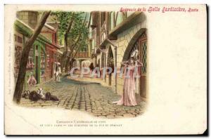 Old Postcard Remembrance Paris of the Belle Jardiniere Expo 1900 Old Paris st...