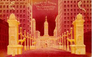 PA - Philadelphia. BPOE Court of Honor. Convention, July 15-20, 1907