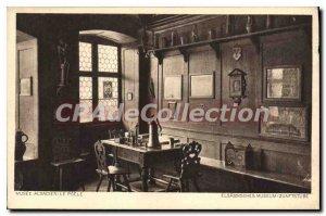Postcard Old Alsatian Museum Poele