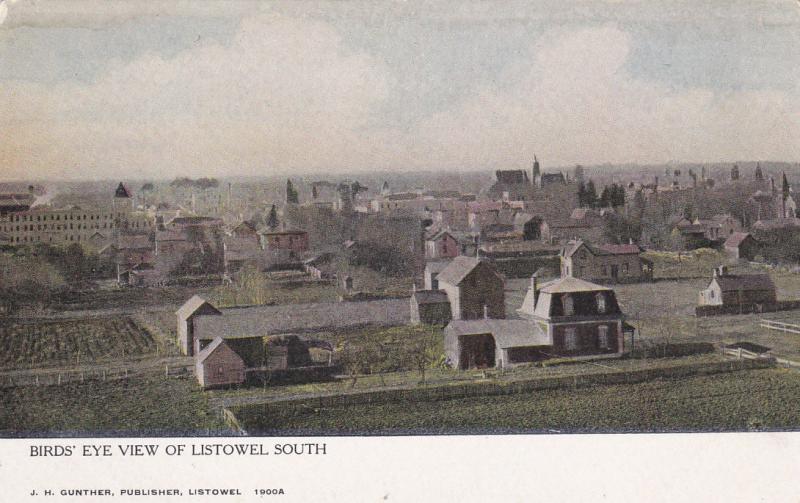 LISTOWEL , Ontario, Canada; 00-10s ; Bird's eye view , South